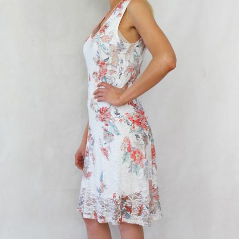 SophieB Flower Lace Print Dress