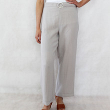 SophieB Natural Line Loose Wide Leg Trousers