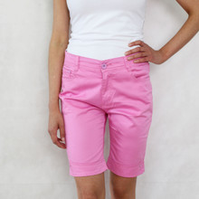 Vidy Pink Denim Shorts