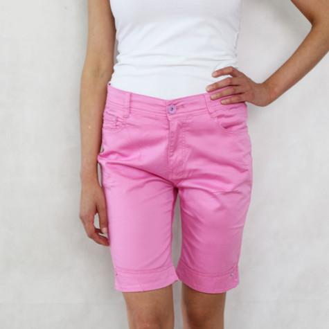 Vidy Pink Denim Shorts