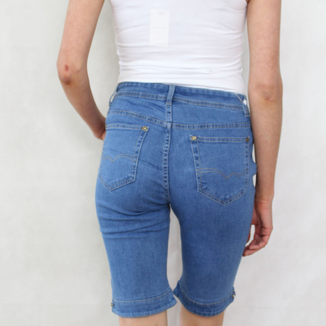 Vidy Light Denim Jean Shorts