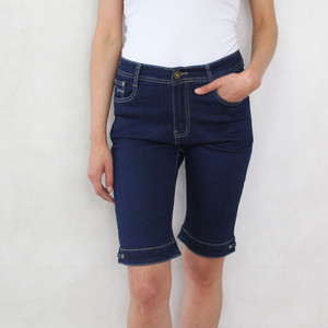 Vidy Dark Denim Jean Shorts