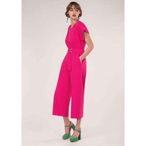 5516025bf60b Closet Pink Kimono Cropped Leg Jumpsuit