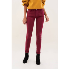 Salsa Jeans SKINNY SECRET TROUSERS IN COLOURED FABRIC