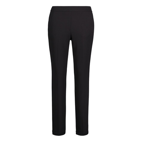 Betty Barclay Black Business Trousers With Slit Pockets