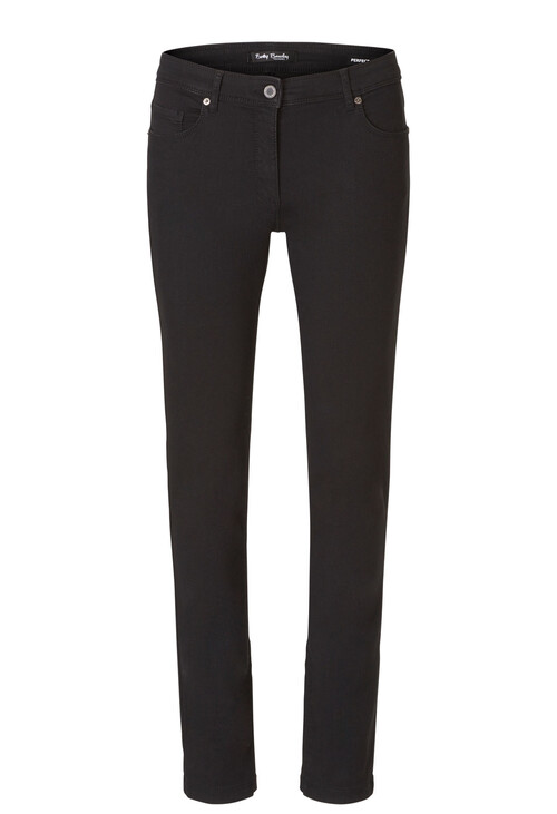 Betty Barclay Black Stretch Trousers Slim Fit
