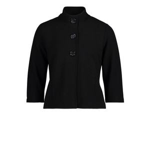 Betty Barclay Black T-shirt High Collar Jacket