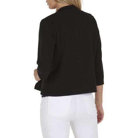 Betty Barclay Black T-shirt High Collar Jacket