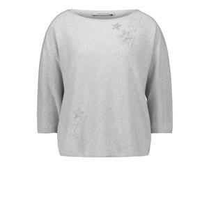 Betty Barclay Light Grey 3/4-length Sleeve Jumper