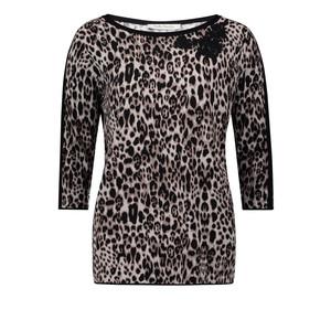 Betty Barclay Leopard Print Knit Jumper