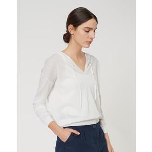 Opus  Color Milk Hoodie Puka Sweater