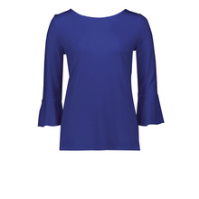 Betty Barclay Deep Blue Round Neck Top