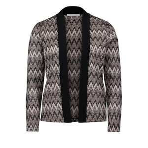 Betty Barclay Black & Grey Open Metallic Knit