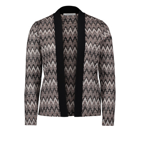 Betty Barclay Black & Grey Open Metallic Knit