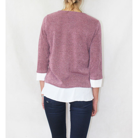 SophieB Pink 2 in 1 Knit