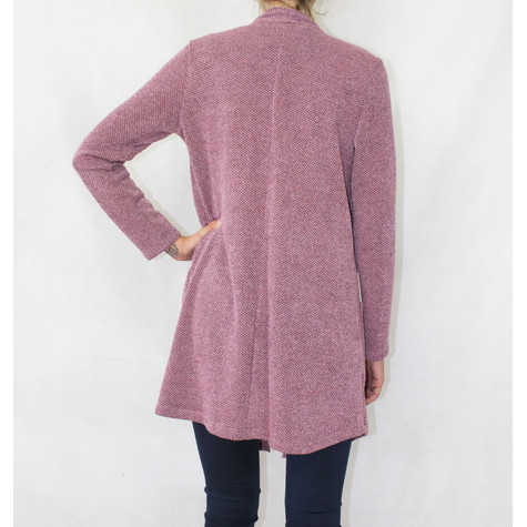SophieB Soft Touch Pink Open Long Knit
