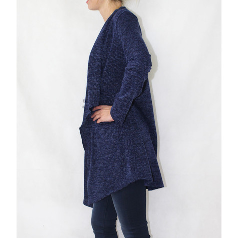 SophieB Soft Touch Navy Open Knit