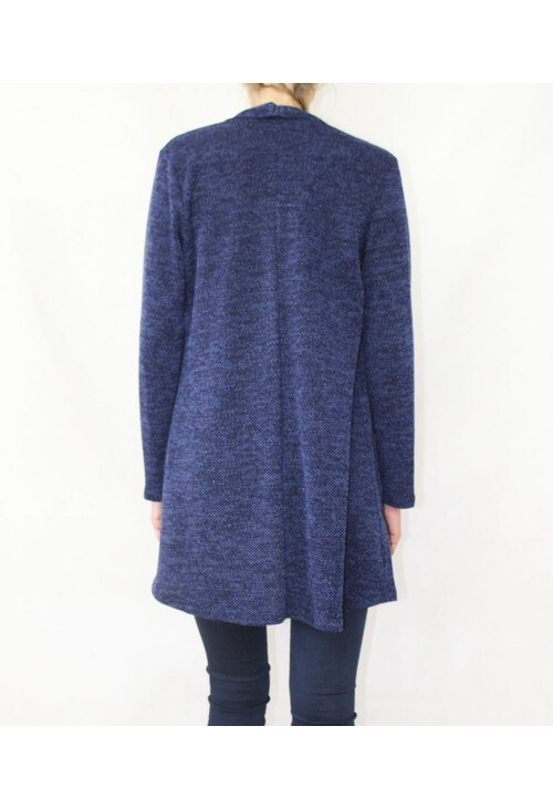 Sophie B Soft Touch Navy Open Knit