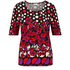 Gerry Weber Inspiring Colours Graphic Pattern Top