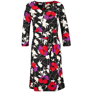 Gerry Weber Black Red Lilac Jersey Dress