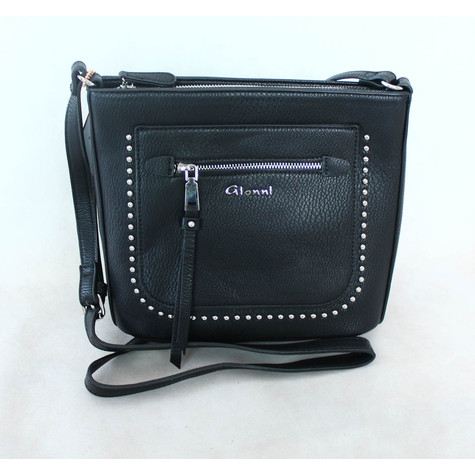 Gionni X Body Black Stud Bag