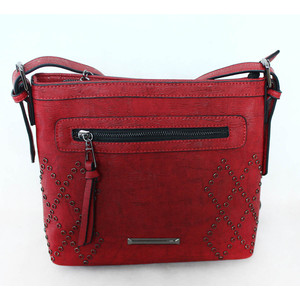 Gionni Dark Red Cross Body Bag