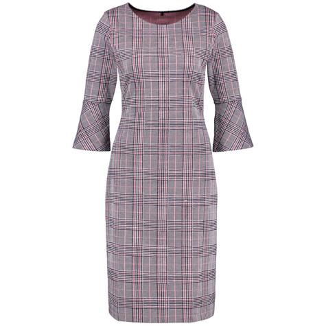 Gerry Weber Glencheck Pattern Dress
