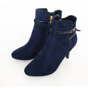 Susst Navy Sparkle Ankle Boot