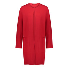 Betty Barclay Red Long Open Knit