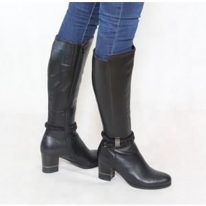 Susst Black Diamante Detail Boots