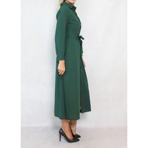 Dolssaci Green Belted Shirt Dress