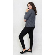 SophieB Anthra Grey Round Neck Knit