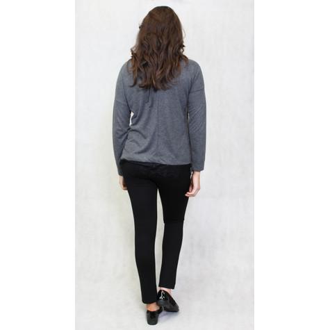 SophieB Anthra Grey Round Neck Knit