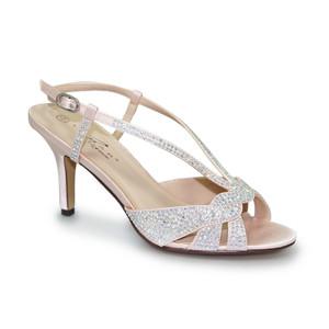 2cd09e2e925 Lunar Pink Detail Diamante Low Heel