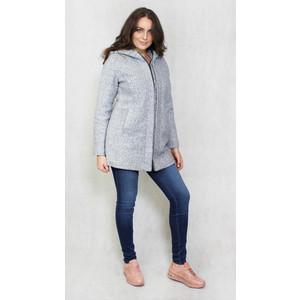 Polarbear Grey Wool Padded Winter Coat
