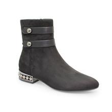 Lunar Black Detail Heel Ankle Boot