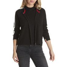 Betty Barclay Black Casual cardigan With a zip