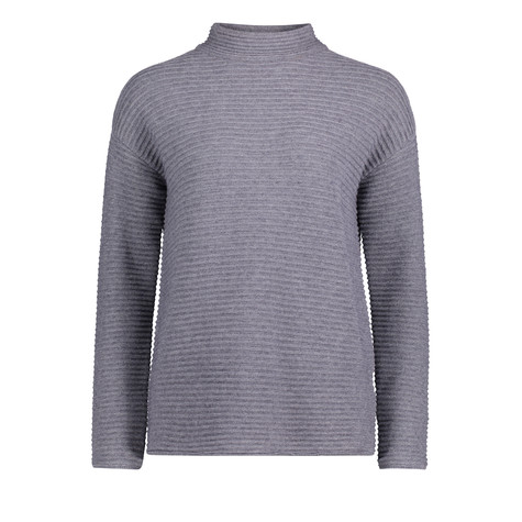 Betty Barclay Grey Rib Long Sleeve Knit