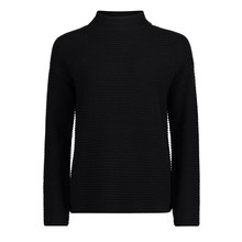 Betty Barclay Black Rib Long Sleeve Knit