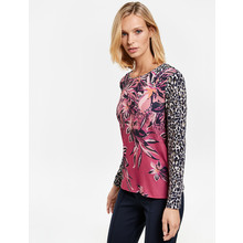 Gerry Weber Azalea-Rose Ink Long Sleeve Shirt