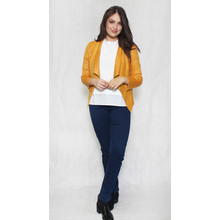 SophieB Mustard Biker Style Jacket