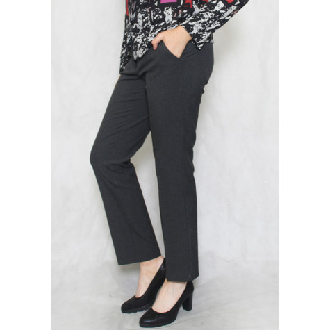 Betty Barclay Grey Slim Fit Business Trousers