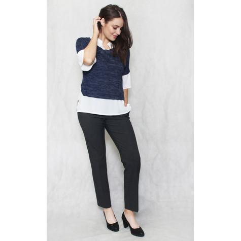 SophieB Navy & White 2 in 1 Knit