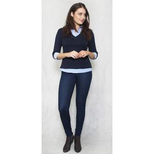 Twist Navy & Blue 2 in 1 Knit