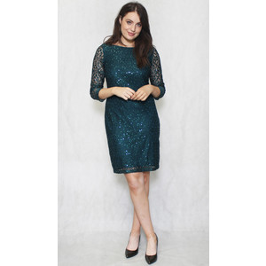 Jessica Howard Hunter Lace Sequence Dress