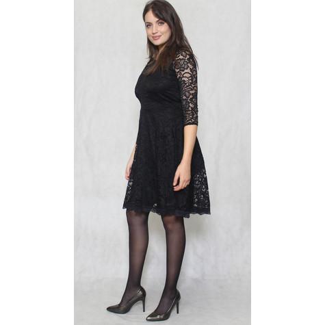 Zapara Black Lace Dress