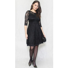 Zapara Black Lace Dress