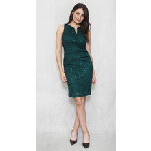 Scarlett Hunter Green Lace Floral Dress