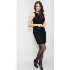 R and M Richard Black Short Lace Dress