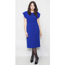 Ronni Nicole Colbolt Cap Sleeve Pencil Dress
